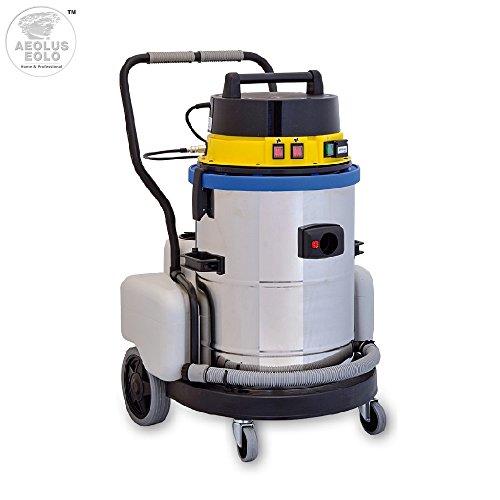 EOLO MOTOR VAPOR LP09 sistema de limpieza profesional multifunción Aspira y Lava con agua fría, equipada con n. 11 accesorios estándar que permiten una limpieza efectiva y rápida de cualquier superficie