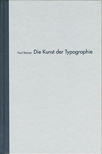 Die Kunst der Typographie Buch-Cover