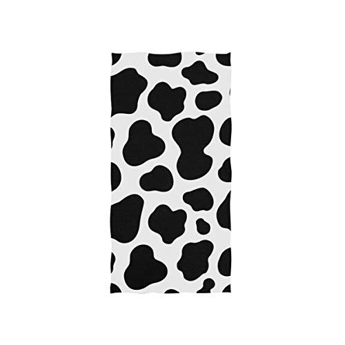 Tier Kuh Druck Design Handtuch Strandhandtuch, Leicht, Weich Microfaser Badetücher, Dekoration Hand Handtücher für Küche Zuhause Bad Spa Fitnessstudio Hotel (76 x 38 cm) ()