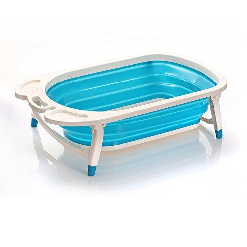 Pliable pour bain de bébé Baignoire–Léger et robuste Idéal pour un rangement facile par Babyhugs