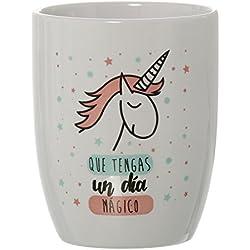 DonRegaloWeb - Taza desayuno original unicornio Que tengas un día mágico