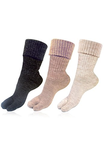 Bonjour Womens Thumb Socks (Pack of 3) (BROGWL-17A-PO3)