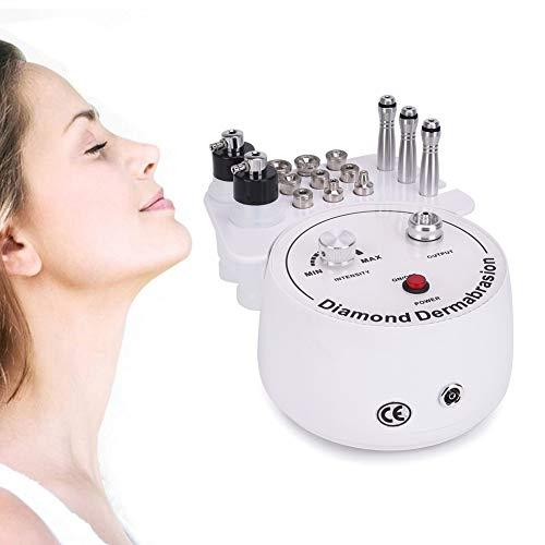 Diamant Mikrodermabrasion Kits, 3 in 1 Dermabrasion Maschine Gesichtspflege Salon Ausrüstung für den persönlichen Heimgebrauch mit Vakuum & Spray (Saugkraft: 47-50cmHg) -