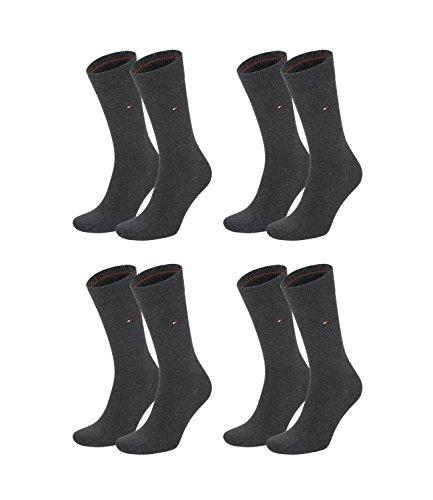 Tommy-Hilfiger-Herren-Classic-Business-Socken-371111-4Paar-FarbeGrauSockengre47-49ArtikelSocken-anthrazit-371111-030