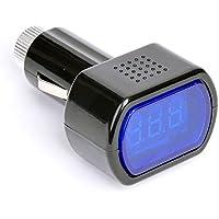 Comprobador de Voltaje de batería de Coche, 12V, 24V