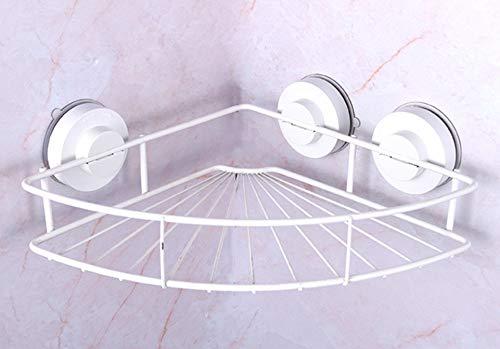 SDFAF Toilettenständer Nail-freie Saugstopf-Toilette Bad Abstellraum weiß
