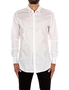 G5BA6TFJ5DGS8353 Dolce&Gabbana Camicie Uomo Cotone Bianco