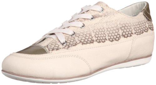 Geox Geox New Moena milk skin beige D4260A-0TEQL-C1087, Scarpe stringate donna Beige (beige)