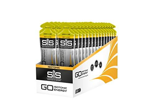 Science in Sport SiS GO Gel isotonico energetico,  gusto Limone e Lime, Confezione da 30 x 60ml