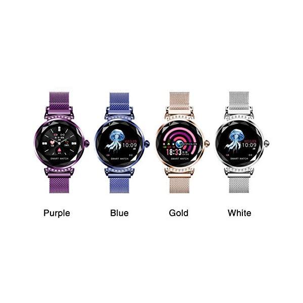 Smart Watch Heart Rate Monitor Fitness Tracker Watch Waterproof Smart Watch Bracelet for Women 5