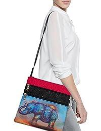 Glive's Travel Cross Body Over Shoulder Large Bag Side Bag