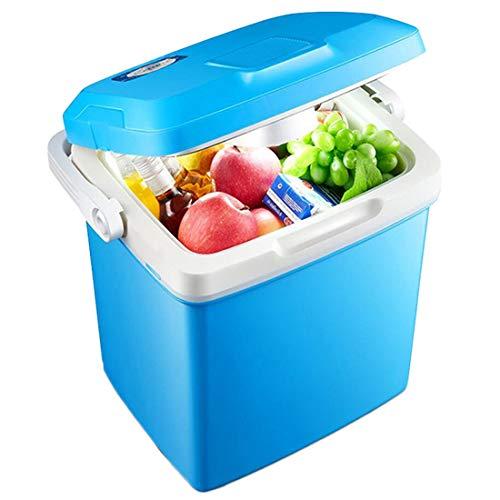 Dxyap Kühlbox 26 Liter Tragbare Elektrische Kompressor-Kühlbox/Gefrierbox, 12/220 V für Auto and Home oder Boot mit Batteriewächter, für Camping