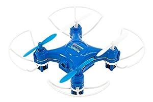 XciteRC 15007850-Rocket 55x XS 3D CAM de cámara de 4Canales RTF cuadricóptero Azul V2de 3Speed con Barra Protectora