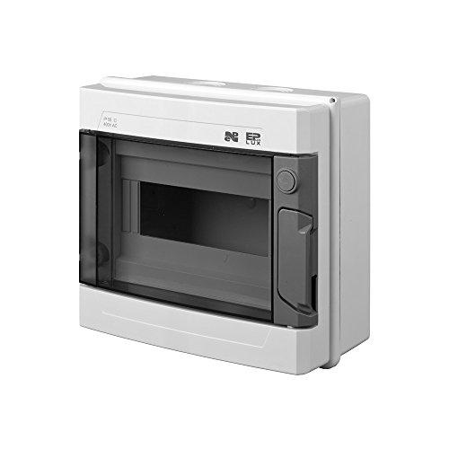 Verteilerkasten Sicherungskasten Aufputz Verteiler Kleinverteiler max. 9 Automaten IP55 Aufputz-Verteiler Feuchtraum