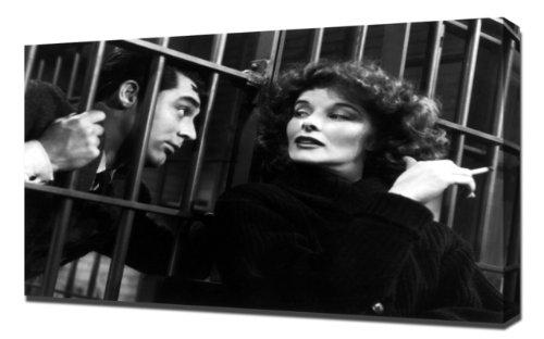 Hepburn, Katharine (Bringing Up Baby)_02 - Leinwandbild - Kunstdrucke -