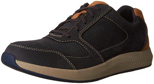 Clarks Men s Sirtis Mix Casual Fashion Sneaker Navy 11 M US 11e87589c6