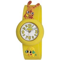 Moshi Monsters Katsuma And Mr Snoodle Charms Watch - Yellow