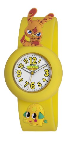 Moshi Monsters Katsuma And Mr Snoodle Charms Watch - Yellow