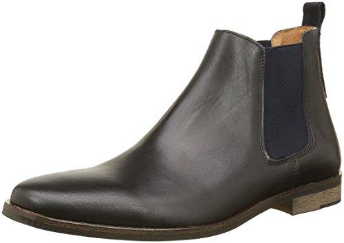 SchmooveDirtydandy Crust - Stivali Chealsea al ginocchio Uomo , nero (Noir (Black 15)), 42 EU