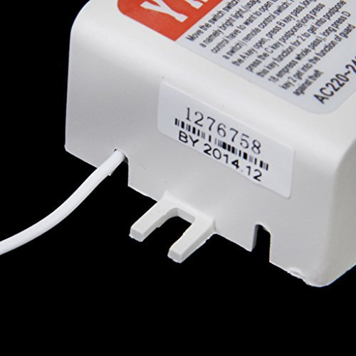 gazechimp on/off interruptor de pared inalámbrico Digital con mando a distancia luz 220V-240V