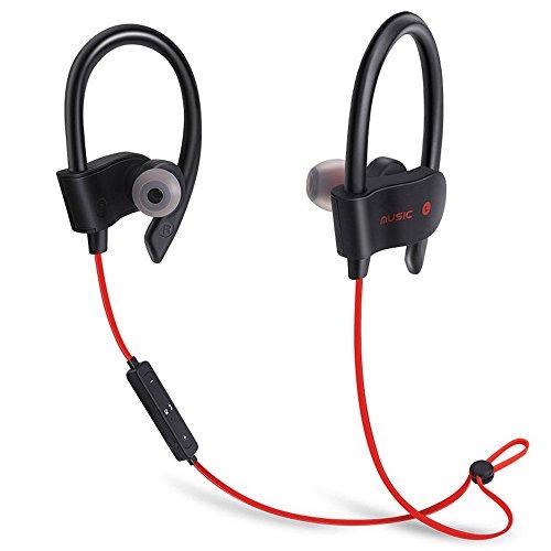 Bluetooth Workout Kopfhörer für Running und Fitness mit Wireless In-Ear und eingebautes Mikrofon für Hände frei Calling von Arena Club, twlvvyimpi Arena Handy