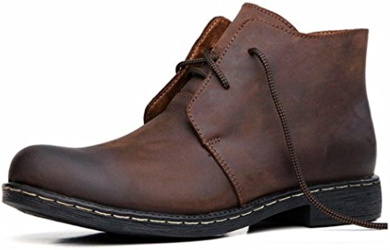 HHY-Tendencia de desgaste transpirable botas, hombre de botas, levita, Martin botas botas, botas, botas de montaña  -