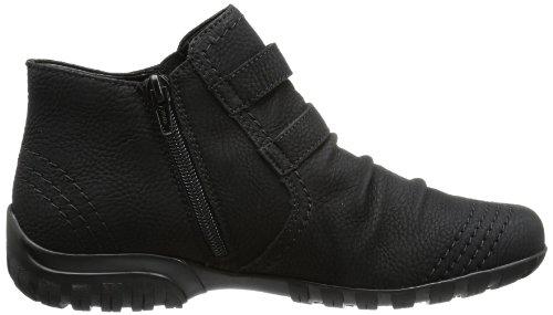 Rieker L4690-01 Damen Kurzschaft Stiefel Schwarz (schwarz 02)