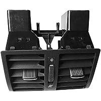 Respiraderos traseros de salida de aire, salida de CA trasera de aire respiraderos centro de la consola de montaje de salida de aire acondicionado para VW para Touran auto accesorios de coche