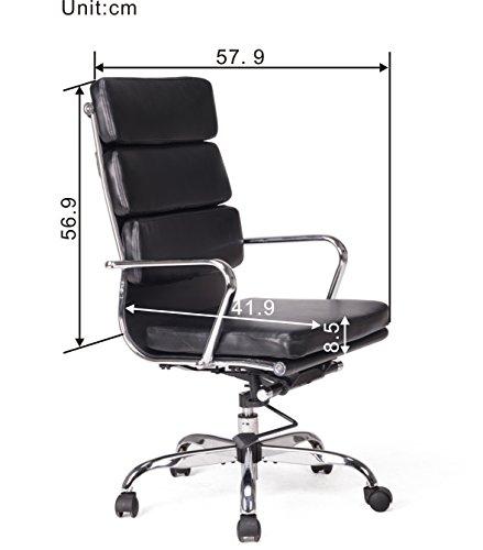 Chollo viva office silla de ordenador moderna de respaldo - Sillas ordenador amazon ...