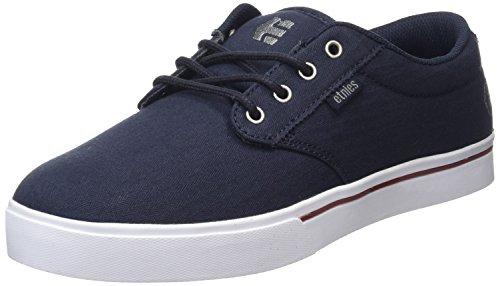 Etnies Jameson 2 Eco, Zapatillas de Skateboard Hombre, Azul (Navy/White472), 41 1/3 EU