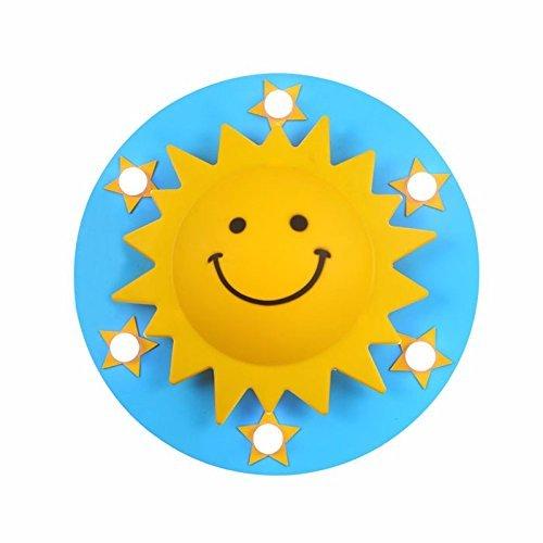 OOFAY LED-Kinderzimmer Deckenleuchte Master Bedroom Boy Und Girl Star Solar Beleuchtung Augenpflege, 450Mm Cartoon