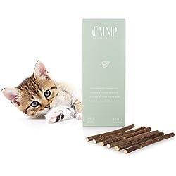 Everanimals 6barras gato Menta | 100% garantía de satisfacción, Si tus gato la Sticks No Mag | gato juguete de verdadero gato Menta, producto natural de Madera La planta matatabi | Cuidado Dental