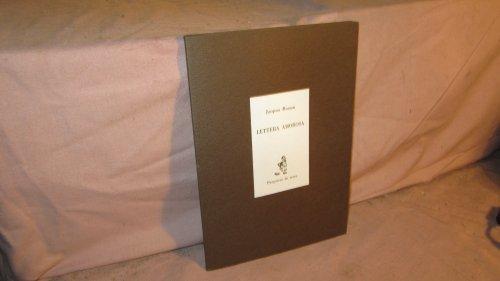 Lettera amorosa par Jacques Roman