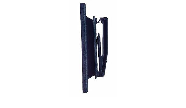 25x Breitband Nagelisolator Typ S 121 schwarz