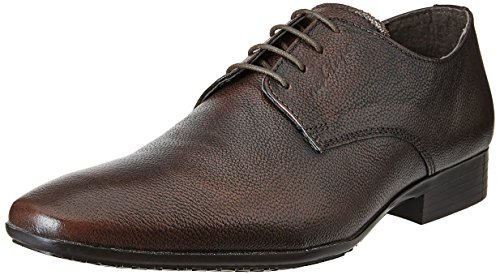 Red Tape Men's Derbys Brown Leather Formal Shoes - 7 UK/India (41 EU)
