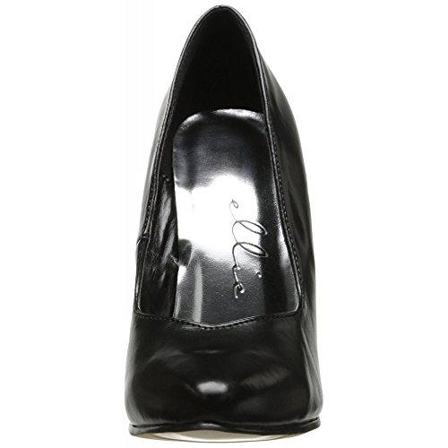 Ellie Shoes - Stilettos pointus en grande pointure Noir (BLK)