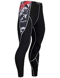 Leggings Uomo,Zolimx Uomo Due Pezzi Leggings Fitness Sport Gym Running Yoga Athletic Pant + Shirt Suit,Leggings Sportivi Pantaloni Tuta Uomo