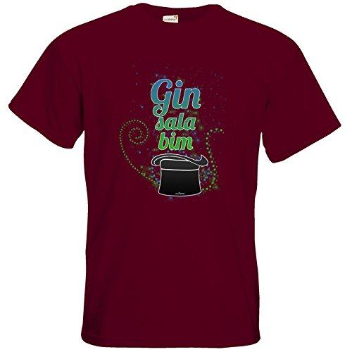 getshirts - SizzleBrothers Merchandise Shop - T-Shirt - SizzleBrothers - Grillen - Gin - ginsalabim Burgundy