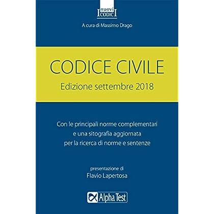 Codice Civile. Settembre 2018