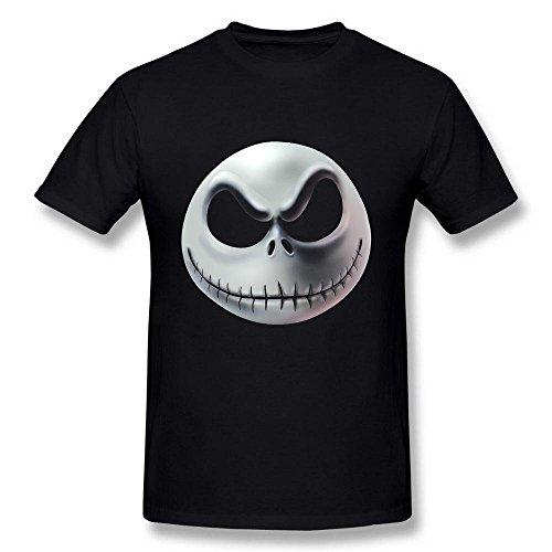 re Before Christmas Dark Jack Skeleton schwarz T Shirt XX-Large (Jack Skeleton T-shirt)