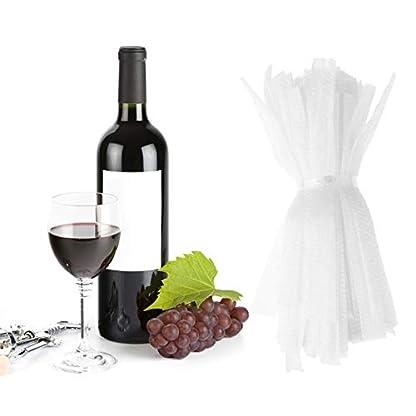 Agoky-100er-Set-PE-Schutzhllen-fr-Weinflaschen-Bierflaschen-Glasflaschen-Trinkflasche
