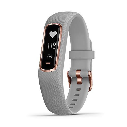 Garmin Rubber Vivosmart 4 Fitness Tracker (Grey)