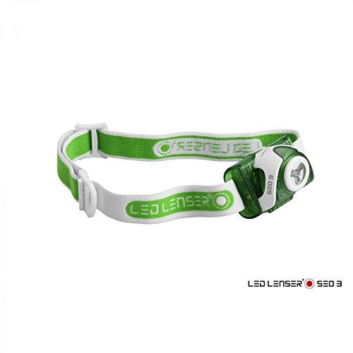 Preisvergleich Produktbild LED Lenser Taschenlampe SEO 3, grün 6003