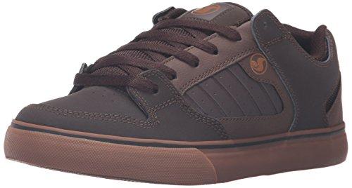 DVS APPAREL Militia Ct, Chaussures de Skateboard Homme Marron (200)