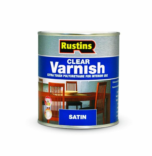 Rustins POSC250 250ml Poly Satin Varnish - Clear