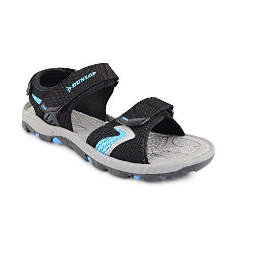Dunlop Claquettes pour homme été marche randonnée/Trail Sac de sport pour chaussures de plage Surfing tailles - Black Royal