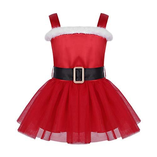 1935f2967d inhzoy Bébés Filles Tutu Robe De Cérémonie Soiré Déguisement De Noël Jupe à  Volant Anniversaire en