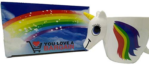 Taza del Unicornio 3D: Cambio de Color Mágico - Caja de Regalo
