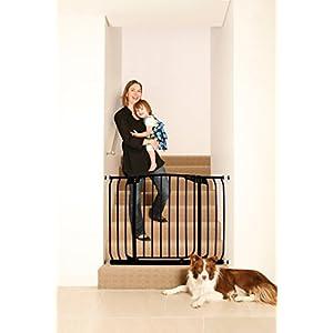 DreamBaby Hallway Security Baby Gate, Black, 7.98 kg   1