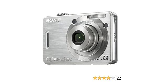 Sony Cyber Shot Dsc W55 S Digitalkamera 2 5 Zoll Silber Kamera